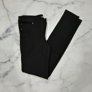 Roots Black Skinny Pants Size Small